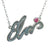 Silver Plated Elvis Signature Necklace