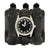 Elvis 68 Special Black Leather Watch