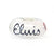 I Love Elvis Glitter Glass Bead Charm