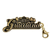 Gold Plated Graceland Original Logo Charm