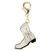 Gold Plated Elvis Presley Boot Charm