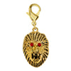 Gold Plated Lion Charm