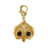 Gold Plated Owl Charm