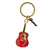 Elvis Presley Red Guitar Key Ring