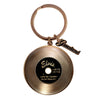 Elvis Gold Record Key Ring