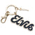 Elvis Script TCB Key Ring