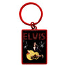 ELVIS Black Suit Collage Key Ring