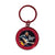 68 Special 50th Anniversary Black Leather Round Key Ring