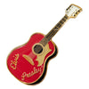 Elvis Presley Red Guitar Magnet