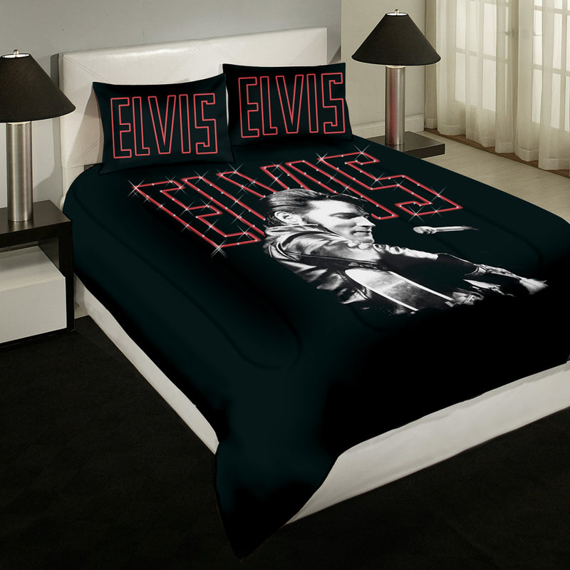 Elvis Presley Bedding Sets.Elvis 68 Special Comforter Set