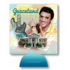 Elvis Presley Graceland Guitar Watercolor Can Coolie