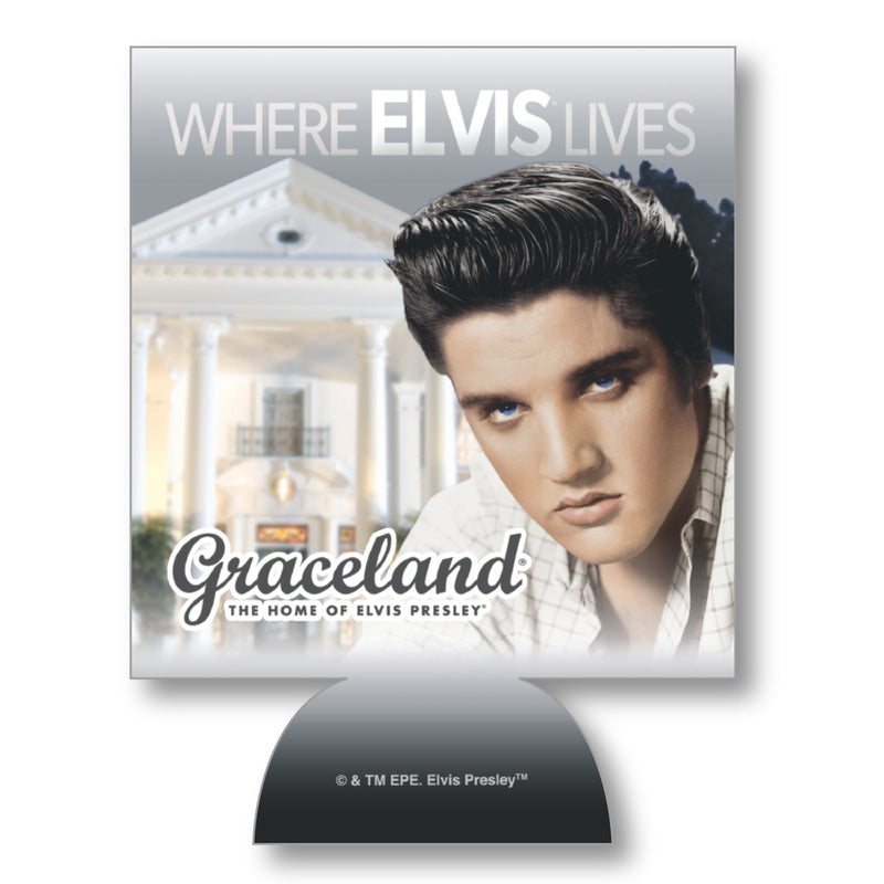8981fe47352 Where Elvis Lives Can Coolie - Graceland Official Store