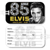 Elvis 85 Graceland Glitter Luggage Tag