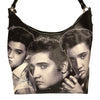Elvis Black and White Collage Handbag