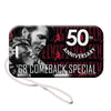68 Special 50th Anniversary Black Leather Glitter Luggage Tag
