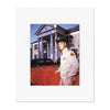 Elvis Graceland Army Matted Photo