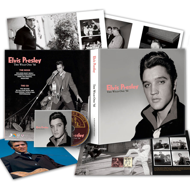 a910d89d Elvis: The Wild One '56 FTD Book and CD Set - Graceland Official Store