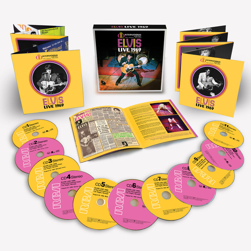 Elvis Presley: Live 1969 CD Box Set