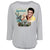 Elvis Presley Graceland Guitar  Watercolor 3/4 Sleeve Women's T-Shirt