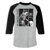 68 Special 50th Anniversary Elvis Black Leather Panel Raglan
