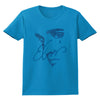 Elvis Signature Sequin Embellished Profile Women's T-Shirt