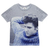 Elvis Blue Sweater Women's Sublimated T-Shirt