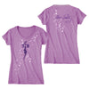 TCB Music Note Women's V-Neck T-Shirt