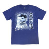 Elvis Presley Box Collage Blue Sweater T-Shirt Front