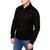 Elvis Presley Long Sleeve Black Printed Casino Shirt