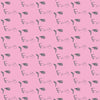 Elvis Profile Signature Wrapping Paper