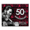 68 Special 50th Anniversary Black Leather Glitter Decal