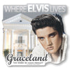 Where Elvis Lives Glitter Decal
