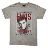 2020 Elvis For President Vintage Poster T-Shirt