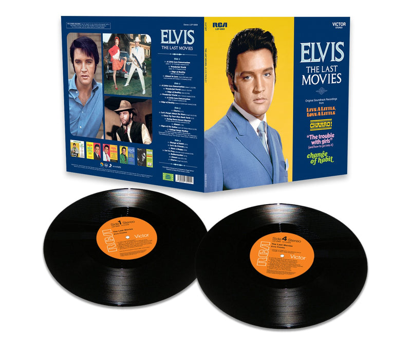 Elvis: The Last Movies FTD LP Set