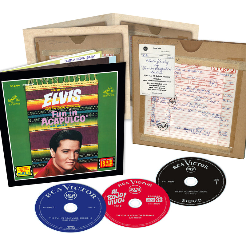 70526279 Elvis: The Fun in Acapulco Sessions FTD 3 CD Set - Graceland ...