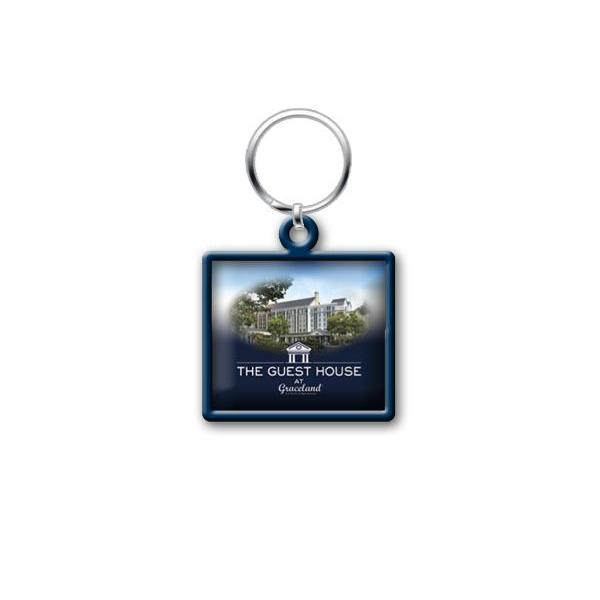 The Guest House At Graceland Duo Tone 2 D Key Ring