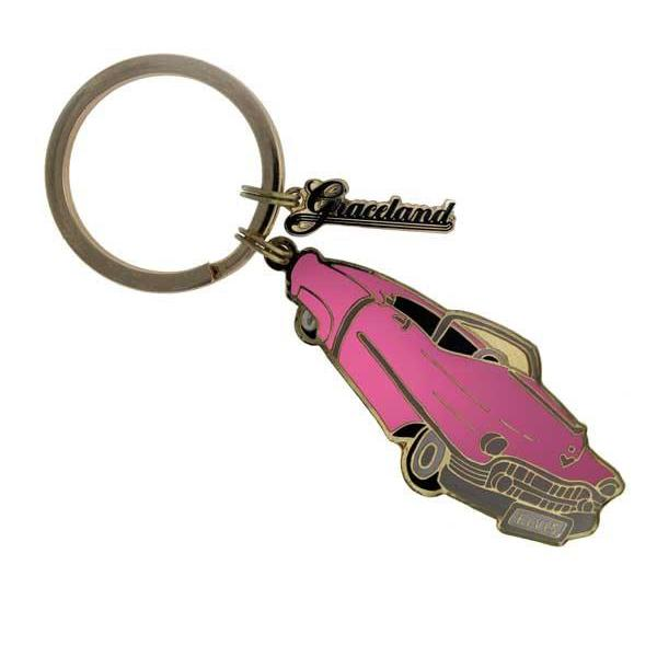 Pink Classic Car Key Ring Graceland Official Store