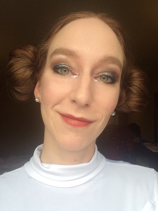 Glitter Leia Goes to Comic-Con by Kathryn McAllister