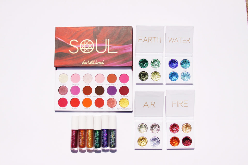 Soul Collection Holiday Set eyeshadow pressed glitter glitter liner