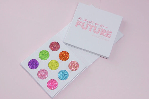 As Bright As Your Future | Pressed Glitter Collection