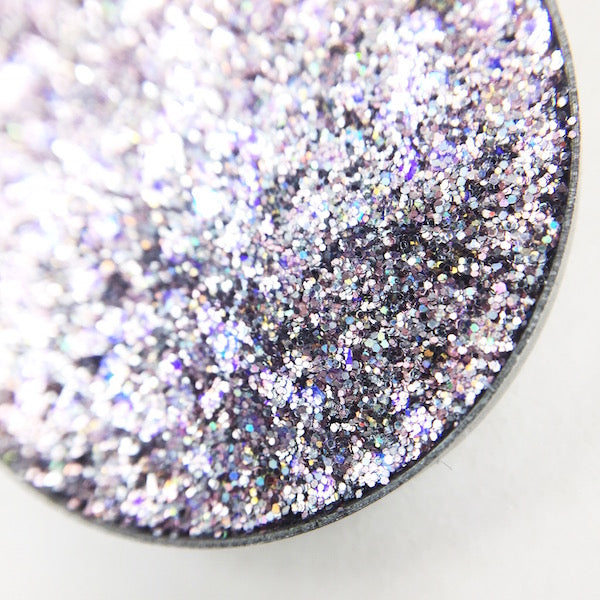 Adore pink silver pressed glitter by dear katie brown