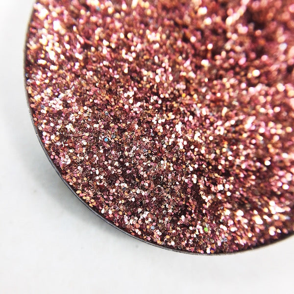 Rose Gold, Copper Metallic pressed glitter by dear Katie Brown