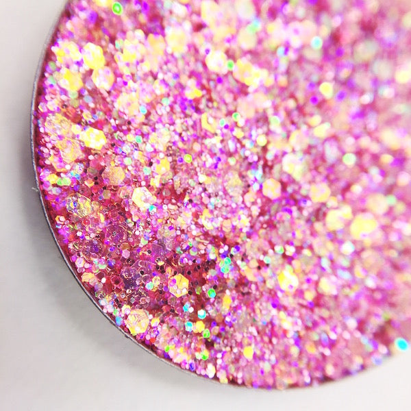 pink holographic pressed glitter dearkatiebrown.com