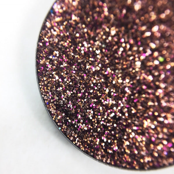 Coco, rosy brown pressed glitter by Dear Katie Brown