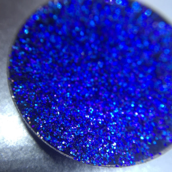 Blue Pressed Glitter Eyeshadow by Dear Katie Brown