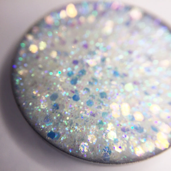 Fever Pitch | White Pressed Glitter Eyeshadow