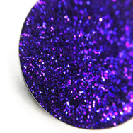 Heart String dark purple metallic pressed glitter