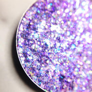 light purple pressed glitter eyeshadow