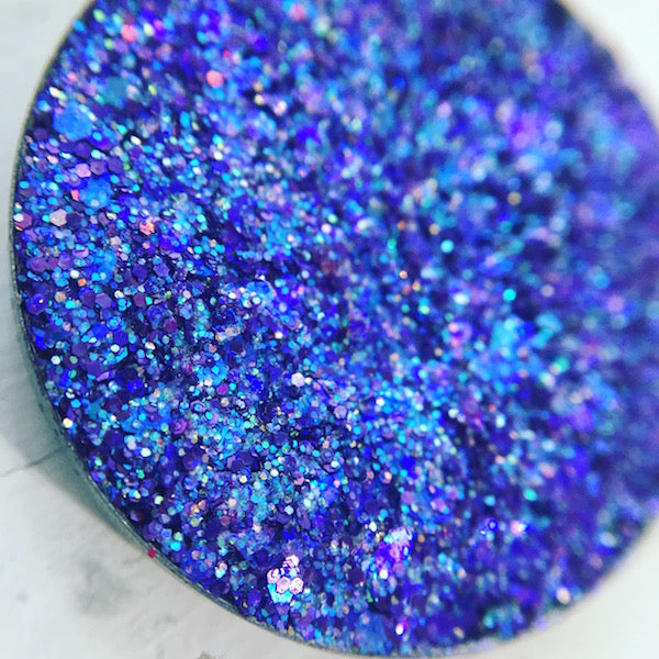 Lion | Purple Pressed Glitter Eyeshadows