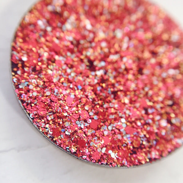 Ravath | Red Pressed Glitter Eyeshadow